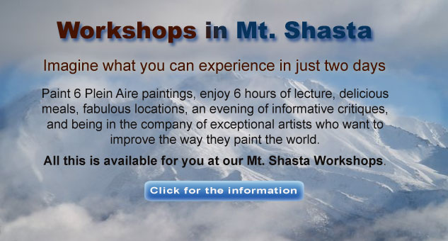 Workshops in Mt Shasta
