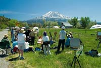Weekend workshop in beautiful Mt. Shasta